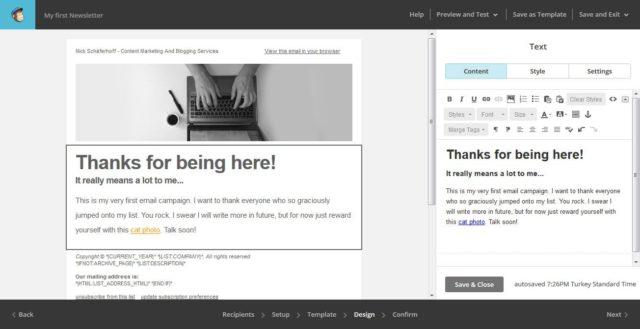 آموزش نحوه راه اندازی کمپین ایمیلی با Mailchimp 43