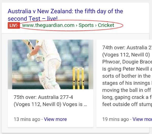 چگونه در صفحات نتایج جستجوی گوگل بدرخشید 6