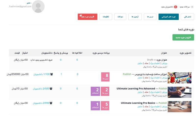 برترین افزونه وردپرس برای ساخت آموزشگاه آنلاین 11