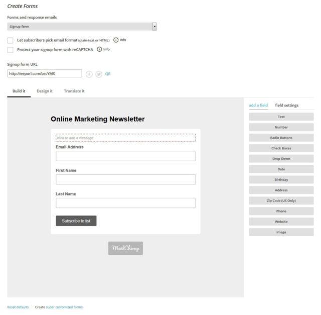 آموزش نحوه راه اندازی کمپین ایمیلی با Mailchimp 40