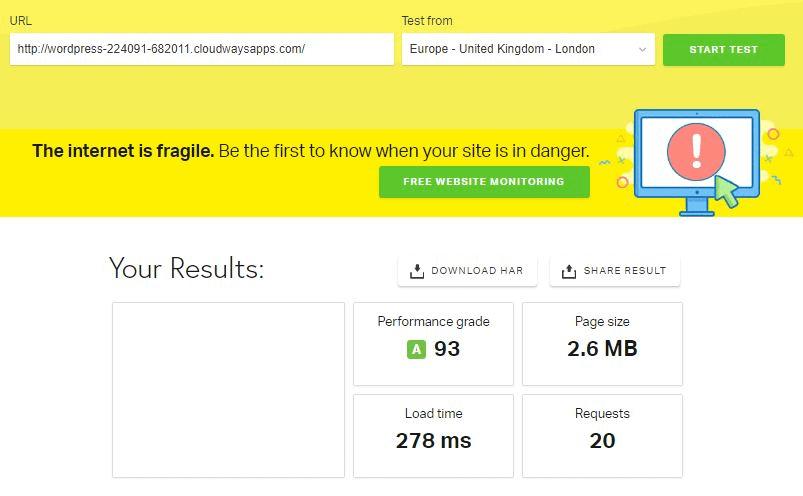 سرعت سایت وردپرس تان را دستکم دو برابر کنید 3