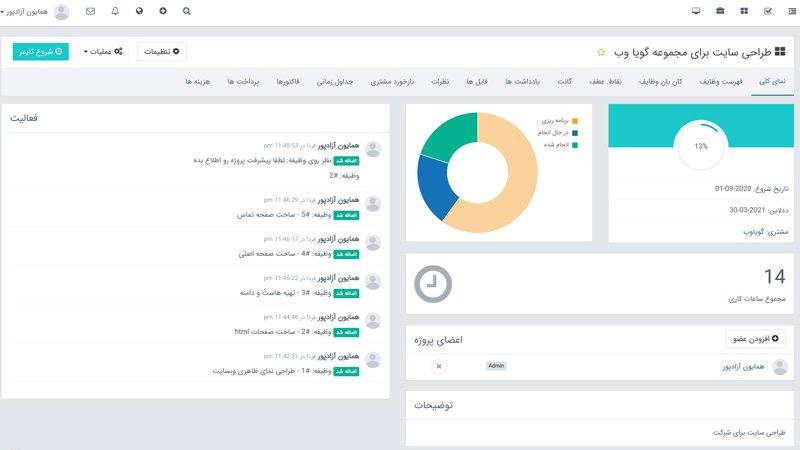 مدیریت آنلاین پروژه و دفتر کار مجازی را روی هاست اختصاصی خودتان راهاندازی کنید 29