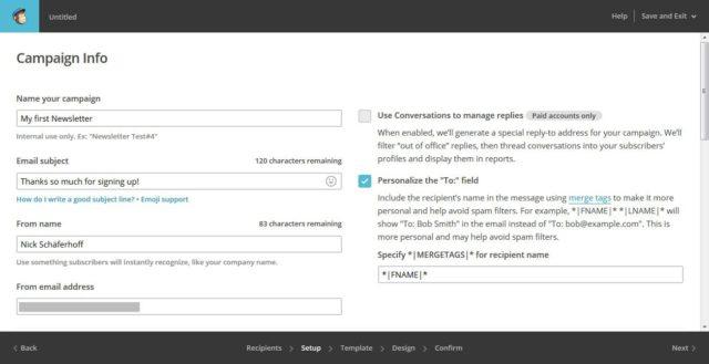 آموزش نحوه راه اندازی کمپین ایمیلی با Mailchimp 48